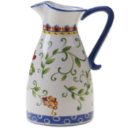 Certified International Amalfi Pitcher