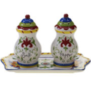 Certified International Amalfi Salt and Pepper Shakers