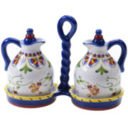 Certified International Amalfi 3-pc. Oil & Vinegar Set