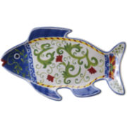 Certified International Amalfi Fish Platter