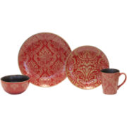 Baum Damask 16-pc. Dinnerware Set