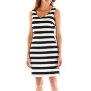 Alyx® Sleeveless Striped Sheath Dress