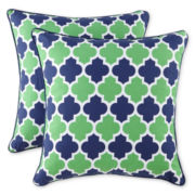 Trellis 2-Pack Decorative Pillows