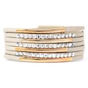 Arizona Leather and Metal Bracelet