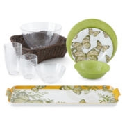 JCPenney Home™ Butterfly Melamine Dinnerware Collection