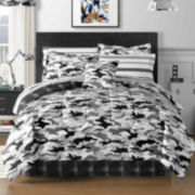 Cadet Camo Complete Bedding Set with Sheets