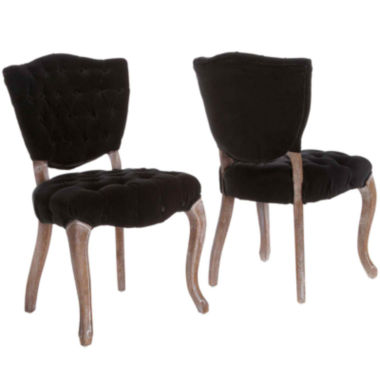 jcpenney.com | Adilene Set of 2 Tufted Dining Chairs