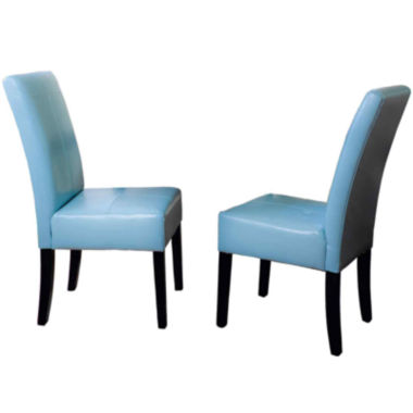 jcpenney.com | Bardem Set of 2 Bonded Leather Parsons Dining Chairs