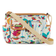 Lily Bloom Mid-Crossbody Pocket Hobo Bag