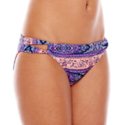Ninety-Six Degrees Audrey Crochet Hipster Swim Bottoms