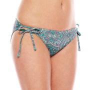 Ninety-Six Degrees Gypsy Power Paisley Side-Tie Hipster Swim Bottoms