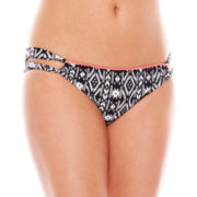 Ninety-Six Degrees Ella Aztec Loop-Side Hipster Swim Bottoms