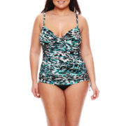 Trimshaper® Tankini Swim Top or Swim Brief - Plus