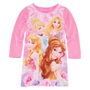 Disney Princess Nightgown - Girls 4-10
