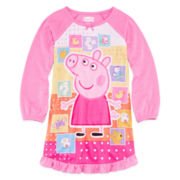Peppa Pig Nightgown - Toddler Girls 2t-4t