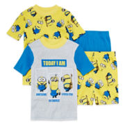 Minion 4-pc. Pajama Set - Boys 4-10