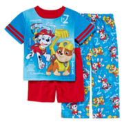 Paw Patrol 3-pc. Pajama Set - Toddler Boy 2t-4t