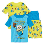 Minion 4-pc. Pajama Set - Toddler Boys 2t-4t