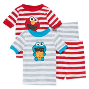 Elmo 4-pc. Pajama Set - Toddler Boys 2t-4t