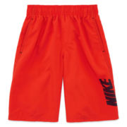 Nike® Convoy Logo Volley Swim Trunks - Boys 8-20