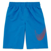 Nike® Big Swoosh Volley Swim Trunks - Boys 8-20
