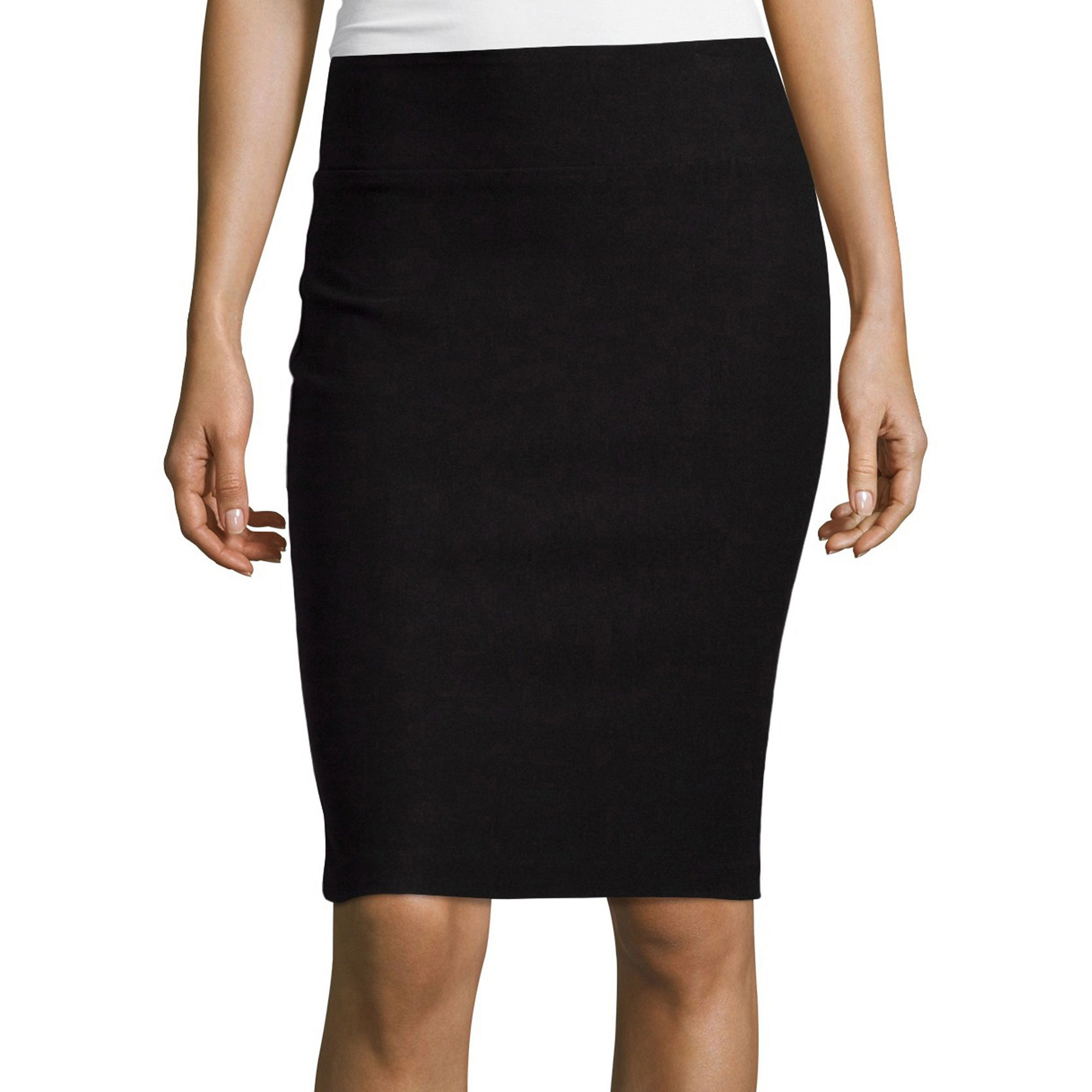 by & by Millenium Pull-On Skirt plus size,  plus size fashion plus size appare