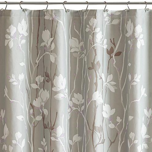 Madison Park Essentials Fulton Printed Shower Curtain