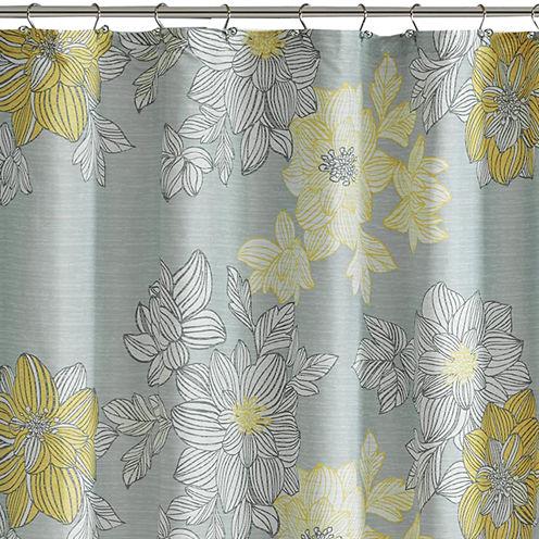 Madison Park Essentials Morrisson Printed Shower Curtain