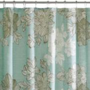 Madison Park Essentials Brady Printed Shower Curtain