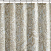 Madison Park Pure Dermot Cotton Shower Curtain