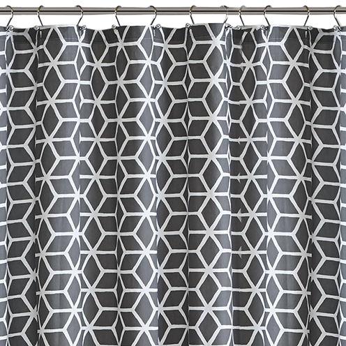 Madison Park Pure Andrea Cotton Shower Curtain