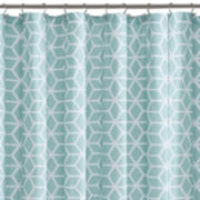 Madison Park Pure Camila Cotton Shower Curtain