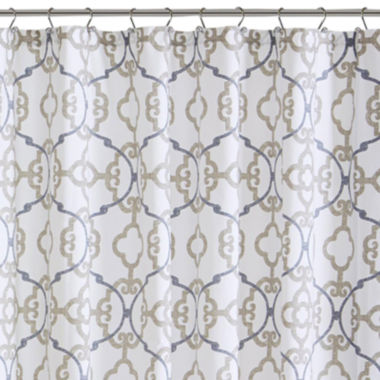 jcpenney.com | Madison Park Pure Nicola Cotton Shower Curtain