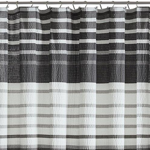 Madison Park Pure Avila Cotton Shower Curtain