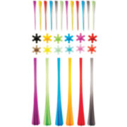 Mastrad® 30-pc. Picks, Markers, and Straws Cocktail Set