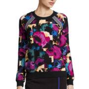 nicole by Nicole Miller® Long-Sleeve Print Sweatshirt