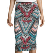 Bisou Bisou® Scuba Pencil Skirt