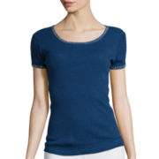 i jeans by Buffalo Short-Sleeve Jewel Tee