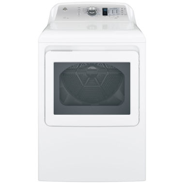 jcpenney.com | GE® 7.4 cu. ft. Capacity Aluminized Alloy Drum Electric Dryer with Sensor Dry