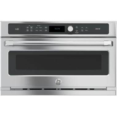 "jcpenney.com | GE Cafe™ Series 30"" Single Wall Oven with Advantium® Technology"