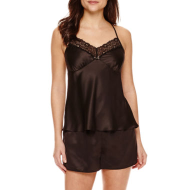 jcpenney.com | Ambrielle® Satin Chemise and Shorts