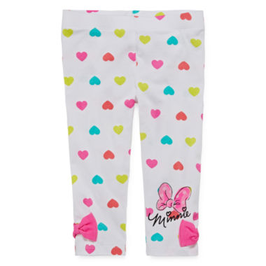 jcpenney.com | Disney Apparel by Okie Dokie® Minnie Mouse Leggings - Toddler Girls 2t-5t