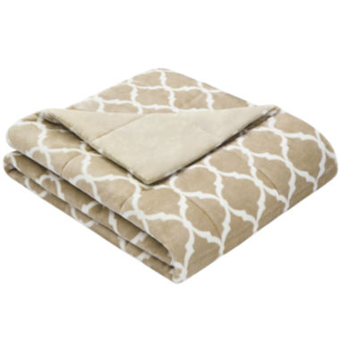 jcpenney.com | Madison Park Ogee Oversize Down-Alternative Throw