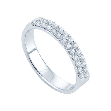 jcpenney.com | 1/2 CT. T.W. Diamond Band 14K White Gold