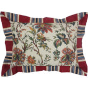 Waverly® Felicite Ivory Pieced Decorative Pillow
