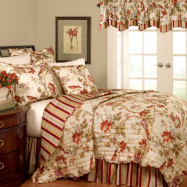 jcpenney.com | Waverly® Charleston Chirp Papaya Quilt Set