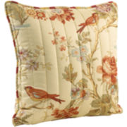 Waverly® Charleston Chirp Quilted Decorative Pillow