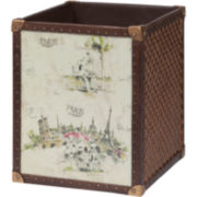 Creative Bath™ I Love Paris Resin Wastebasket