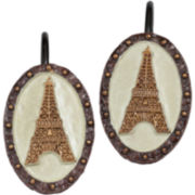 Creative Bath™ I Love Paris Shower Curtain Hooks