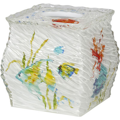 Creative Bath™ Rainbow Fish Tissue Holder